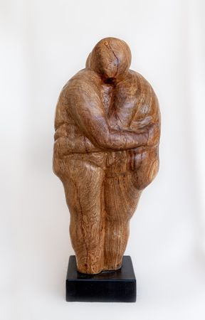 <b>Late love</b> - wood, h- 50 cm
