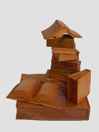 <b>books</b> - books from wood 40*40*50