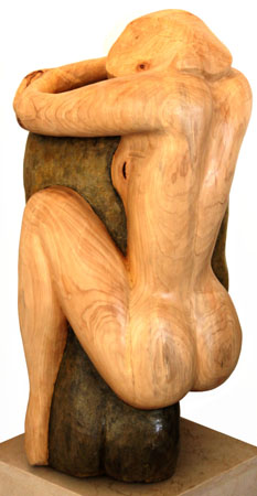 <b>Integration</b> -  , Cypress wood with bronze